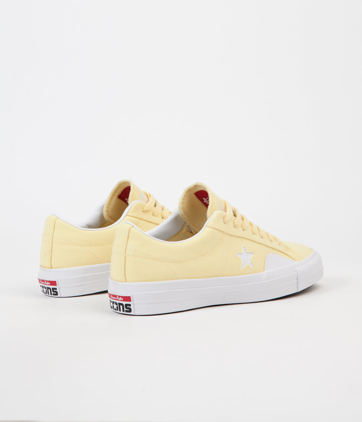 Converse x Chocolate One Star Pro Ox Shoes - Yellow / White / Days Ahead