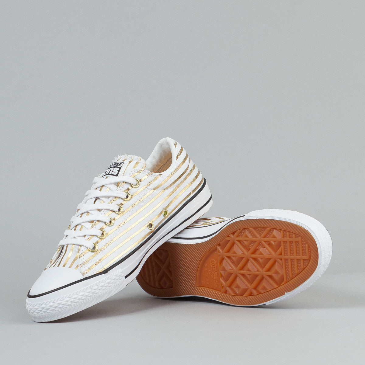 Converse X Fragment CTS OX Shoes - White / Rich Gold