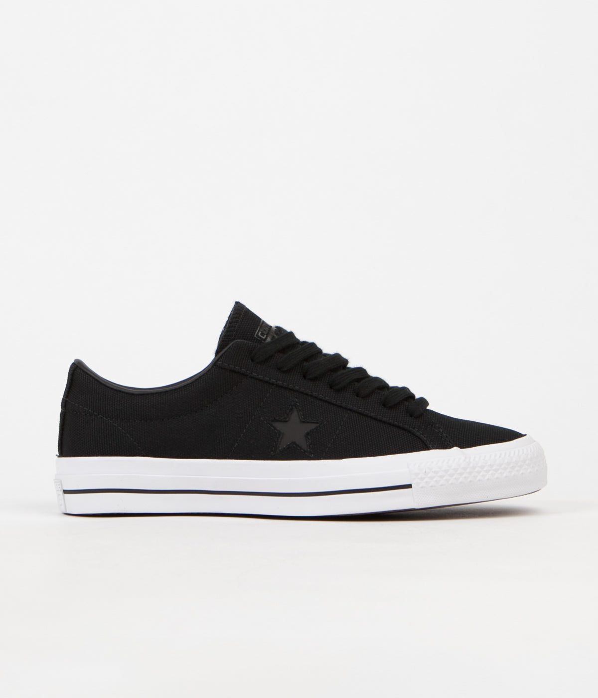 Converse x Mike Anderson One Star Pro Ox Shoes - Black / Black / White