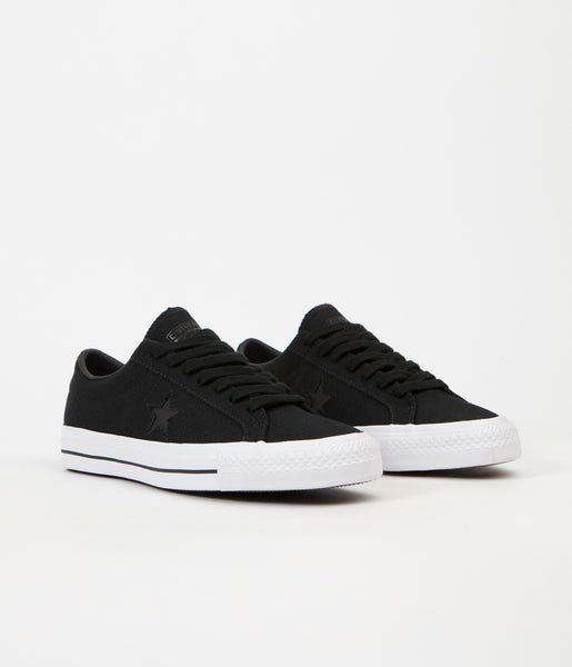 2a1a87238909 Converse x Mike Anderson One Star Pro Ox Shoes - Black   Black   White