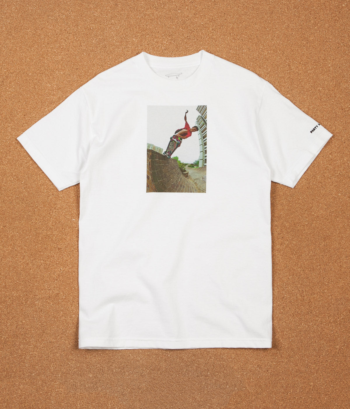 Crailtap Gonz 80's Party T-Shirt - White