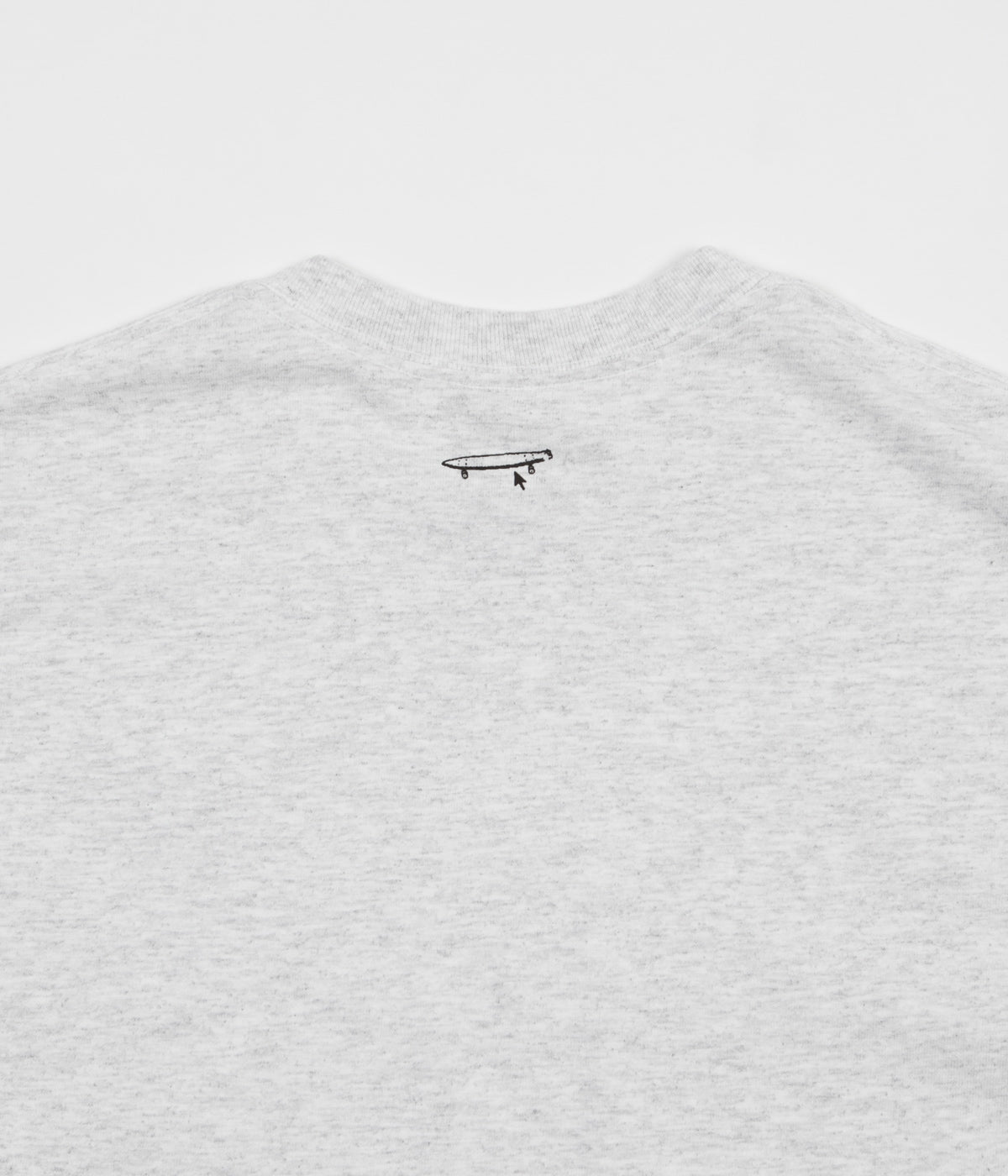 Crailtap Motto Cloudy Days T-Shirt - Ash