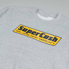 Dear Skating Supercush Crew Neck Sweatshirt Heather Grey