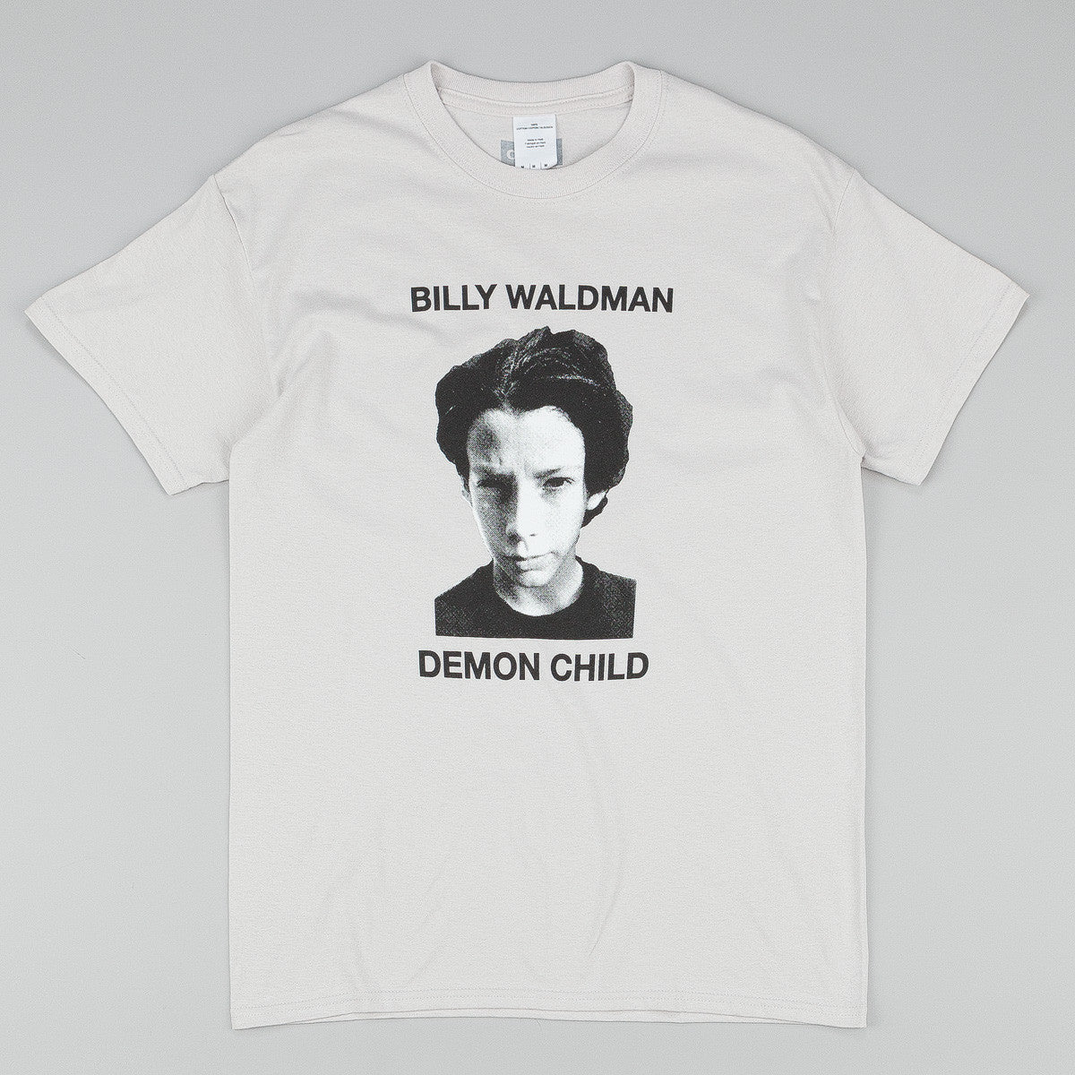 Dear Skating BW Demon Child T-Shirt - Silver