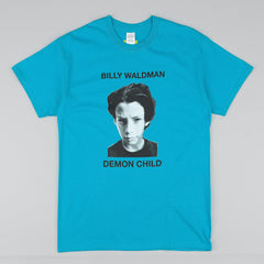 Dear Skating BW Demon Child T-Shirt - Turquoise