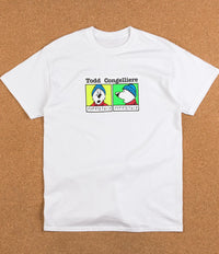 Dear Skating Congelliere Mugshot T-Shirt - White