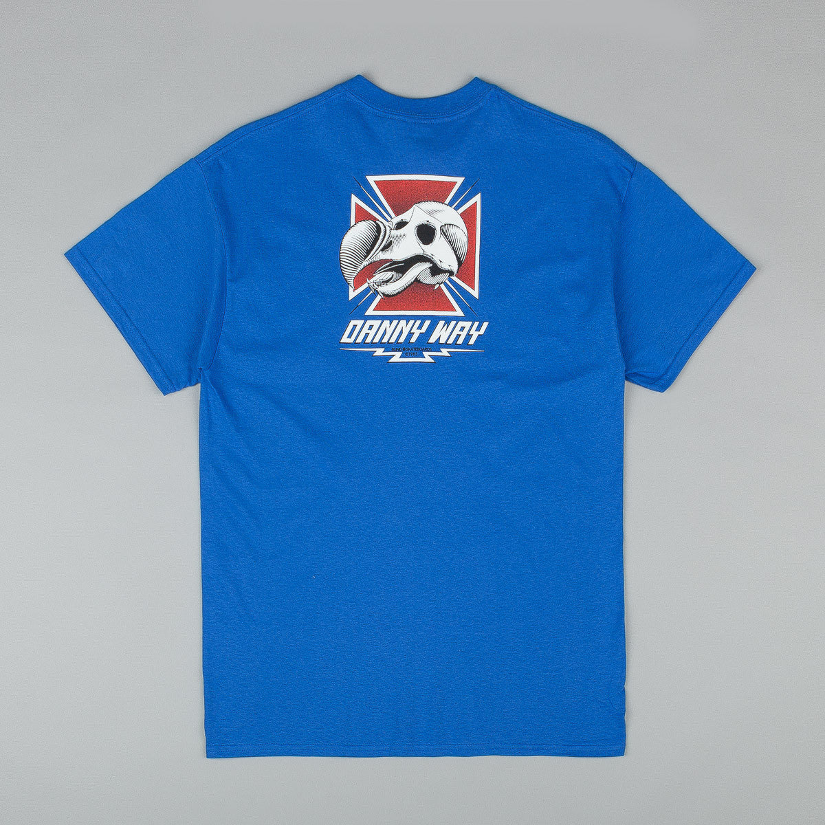 Dear Skating Danny Way Dodo T-Shirt - Royal Blue