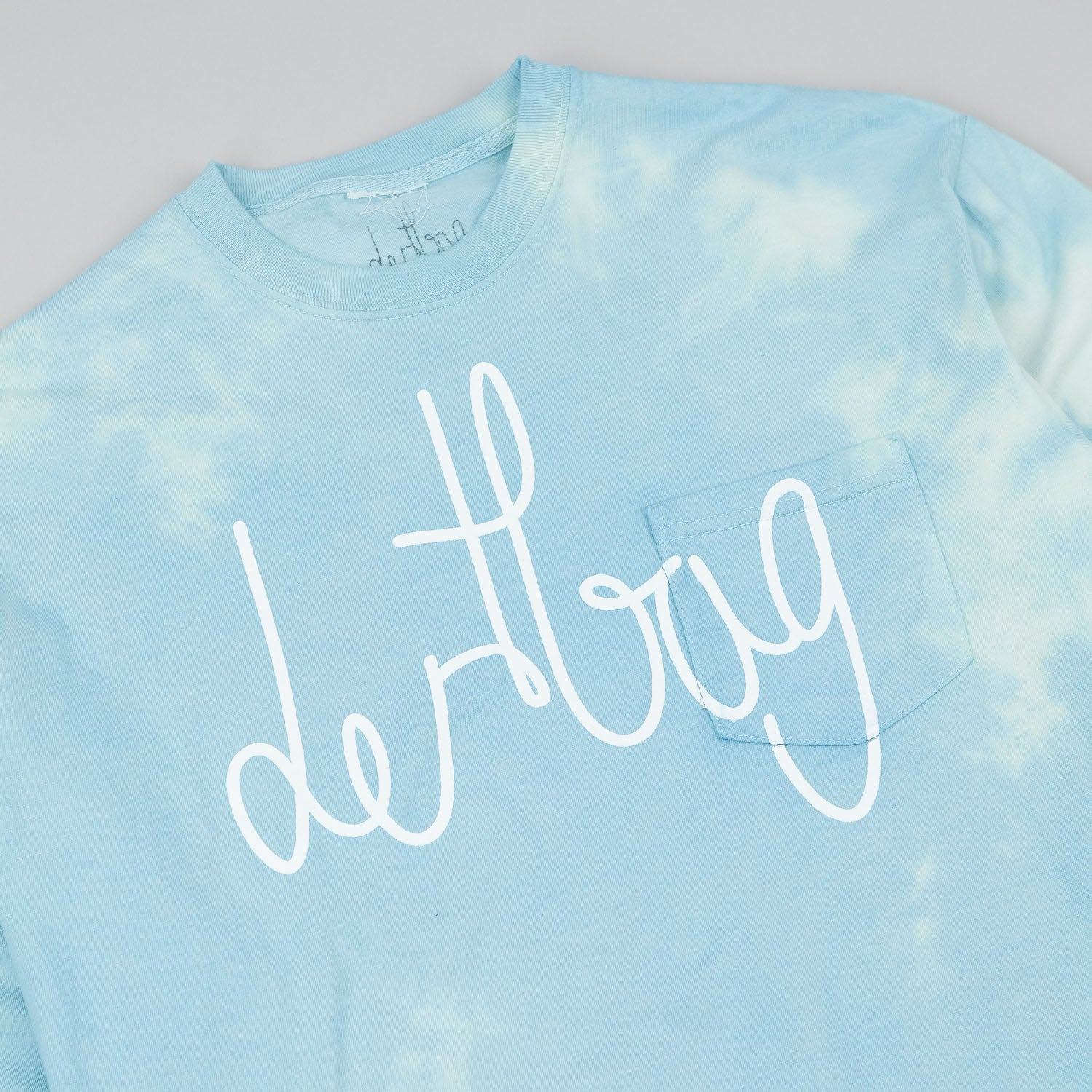 Dertbag Connect L/S Pocket T-Shirt - Dyed Blue