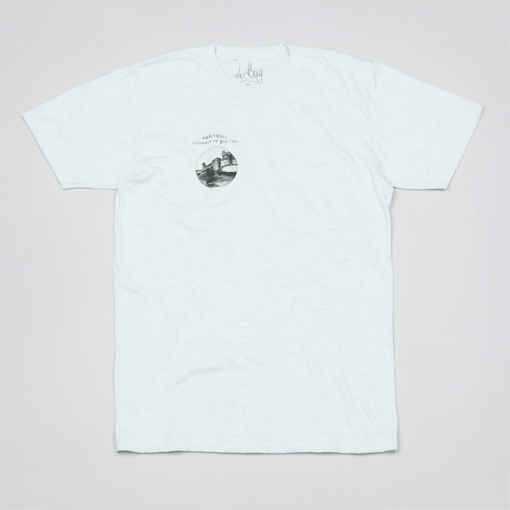 Dertbag Connecticut Pocket T Shirt Seafoam