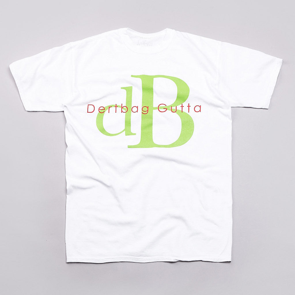 Dertbag DB T Shirt White