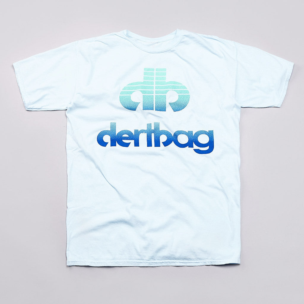 Dertbag Dert T Shirt Pale Blue