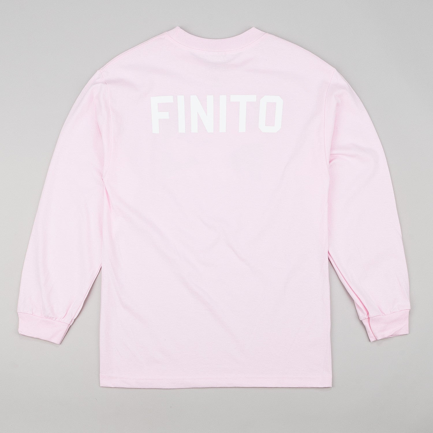 Dertbag Finito L/S T-Shirt - Pink