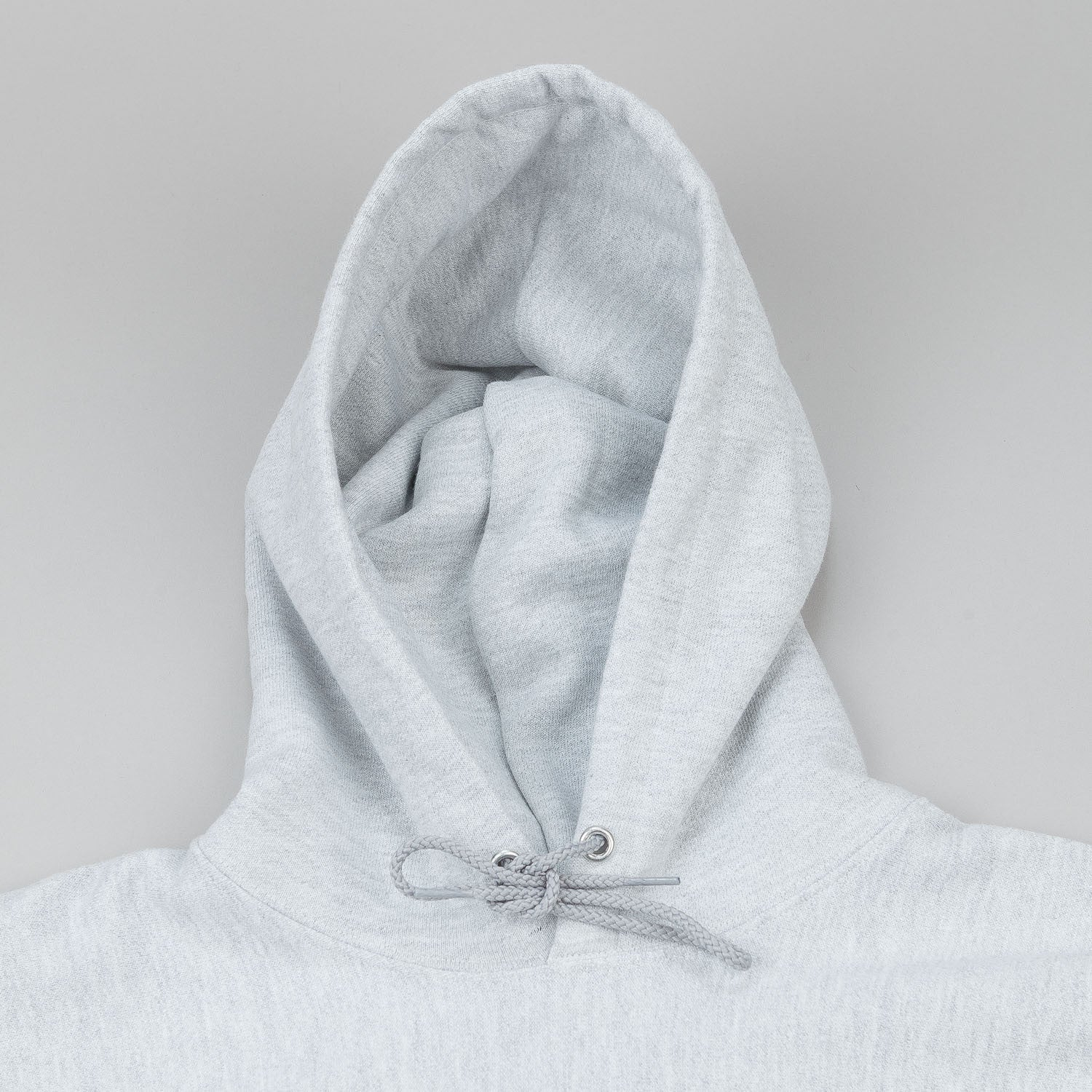 Dertbag Flag Reverse Weave Champion Hooded Sweatshirt - Grey