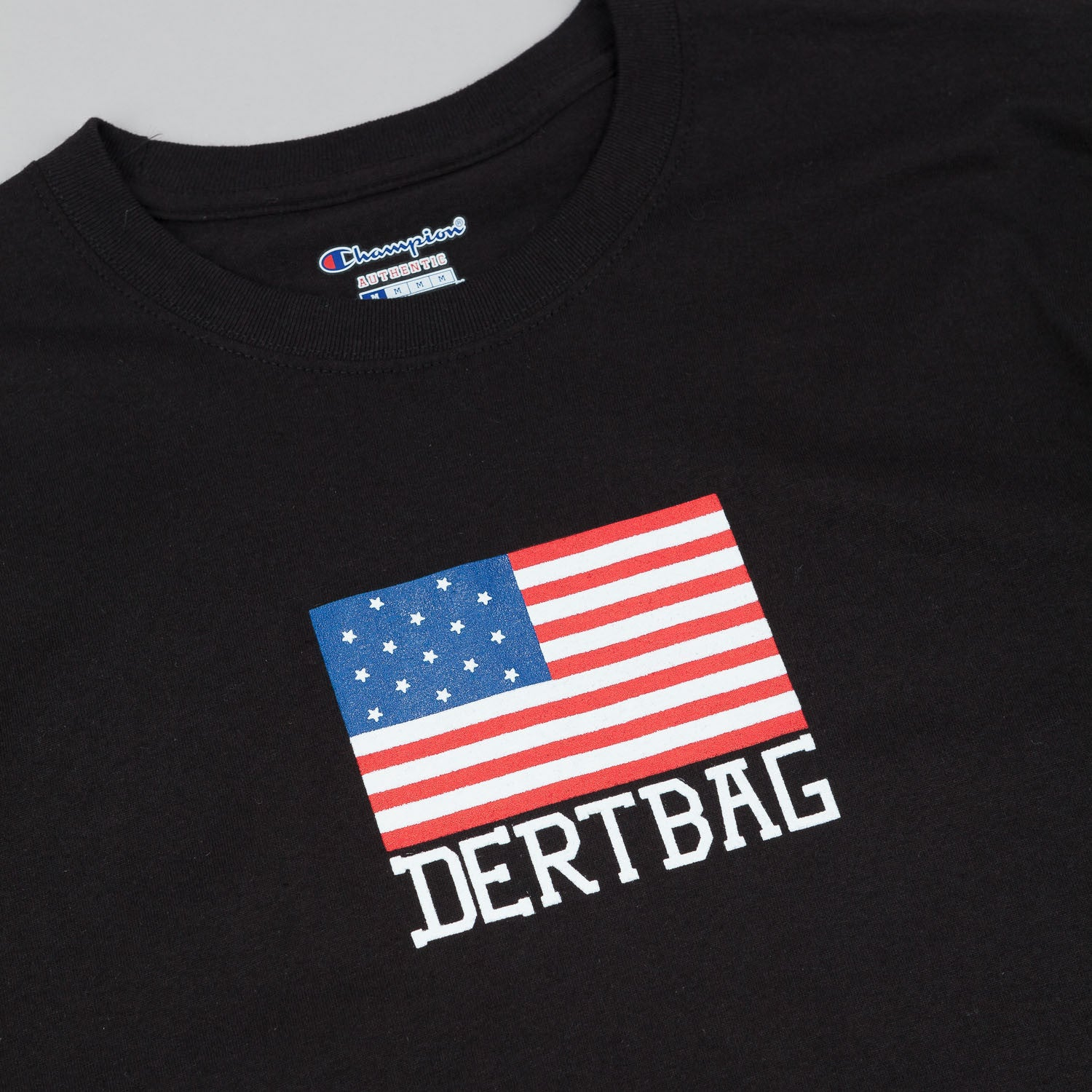 Dertbag Flag T-Shirt - Black