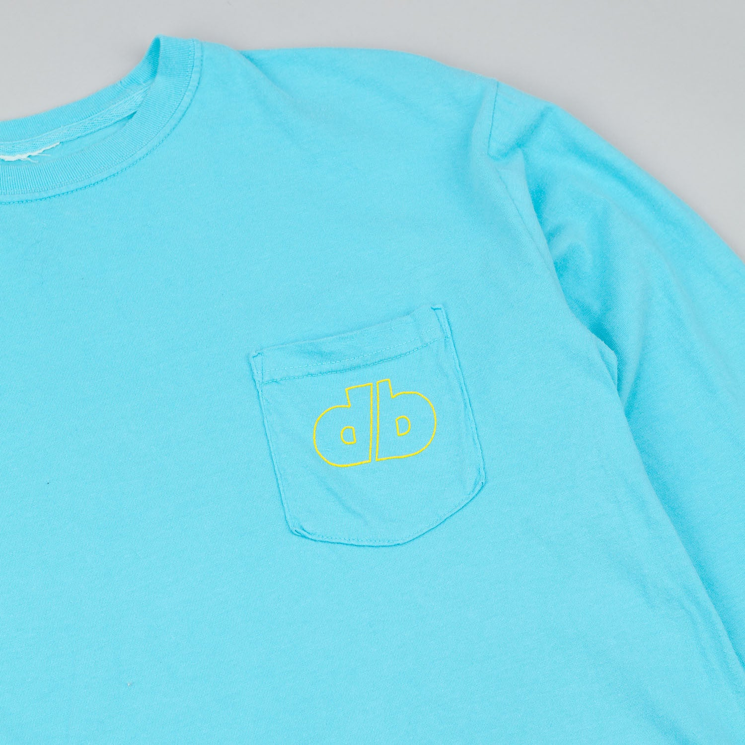 Dertbag Gully Wear Long Sleeve Pocket T-Shirt - Blue