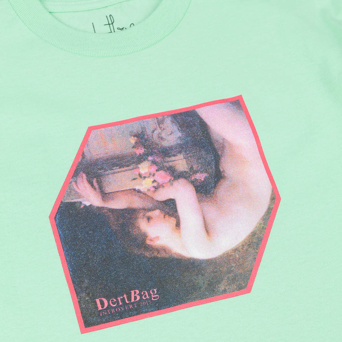 Dertbag iNTROVERT T-Shirt - Mint
