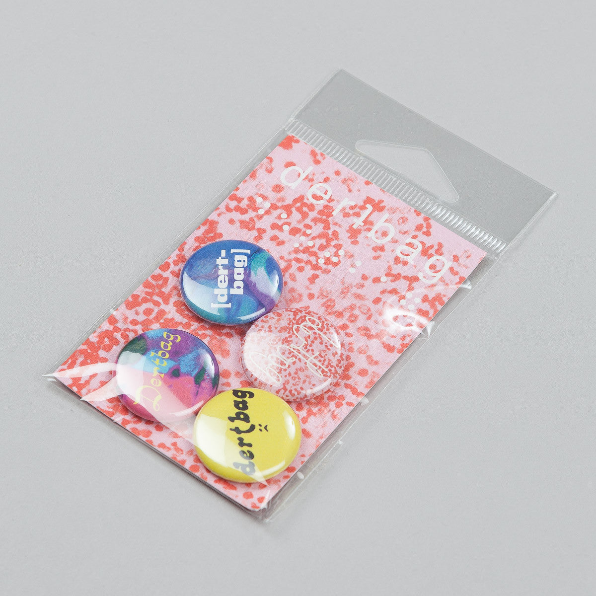 Dertbag Pin Pack - 4 Pins