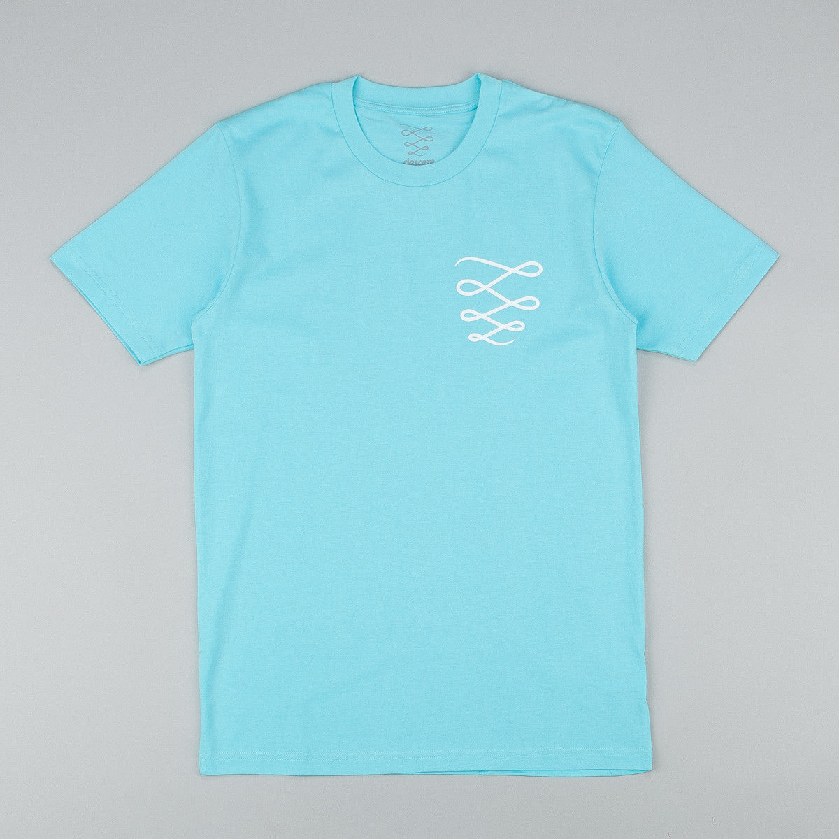 Descent OG Logo T-Shirt - Fresh Blue