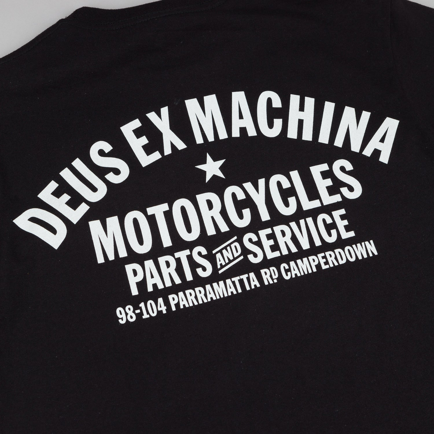 Deus Ex Machina Camperdown Address T-Shirt - Black