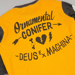 Deus Ex Machina Ocd Moto 3 Long Sleeve T-Shirt - Yellow