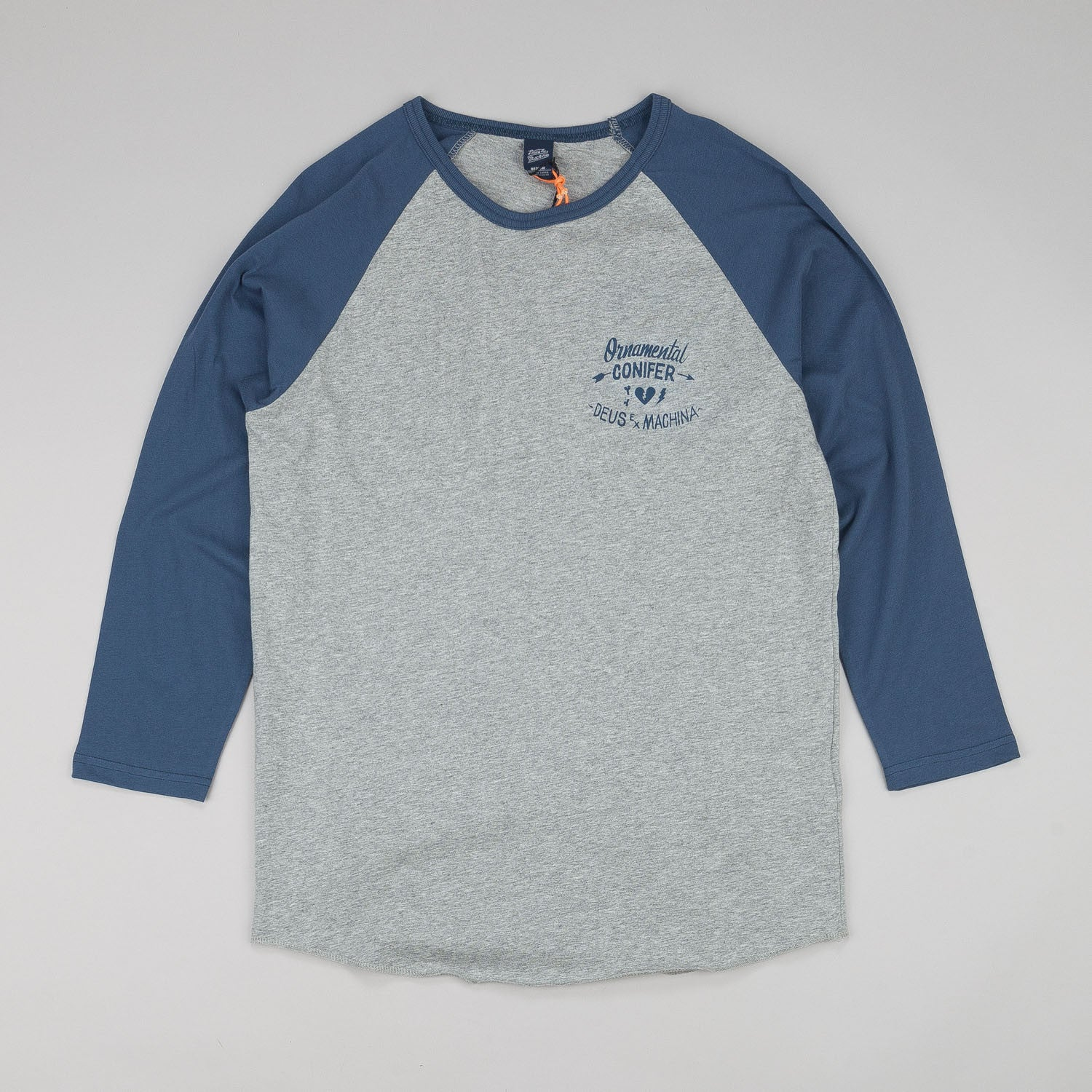 Deus Ex Machina Rituals 3/4 Sleeve Raglan T-Shirt
