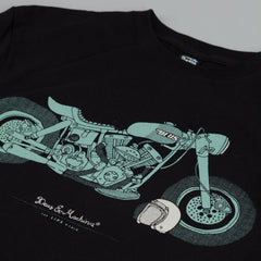 Deus Ex Machina The Lips T Shirt Black