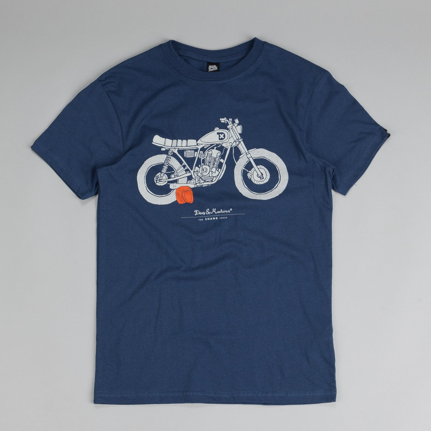 Deus Ex Machina The Shank T Shirt Navy
