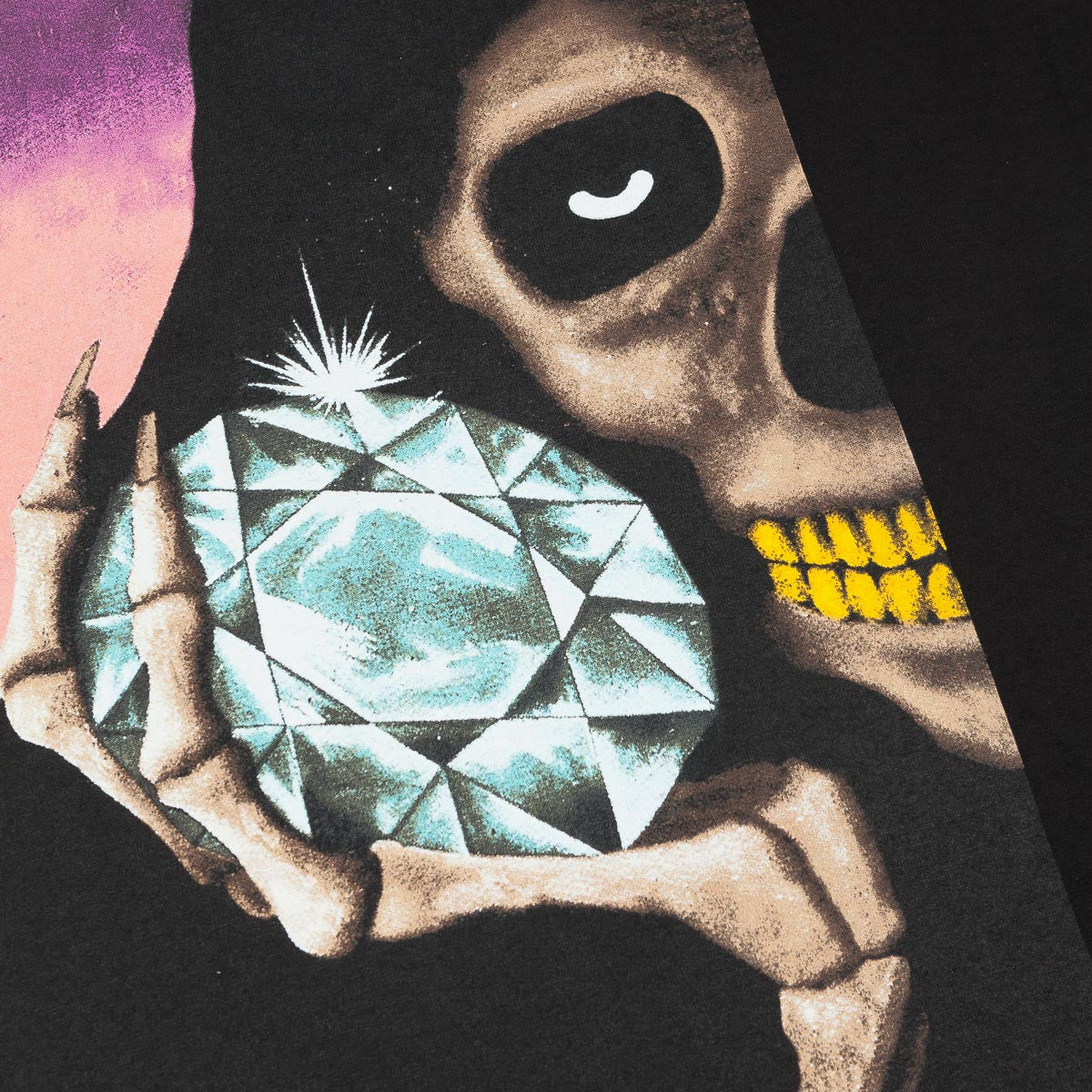 Diamond The Reaper T-Shirt - Black