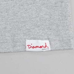 Diamond Angel T Shirt Heather Grey