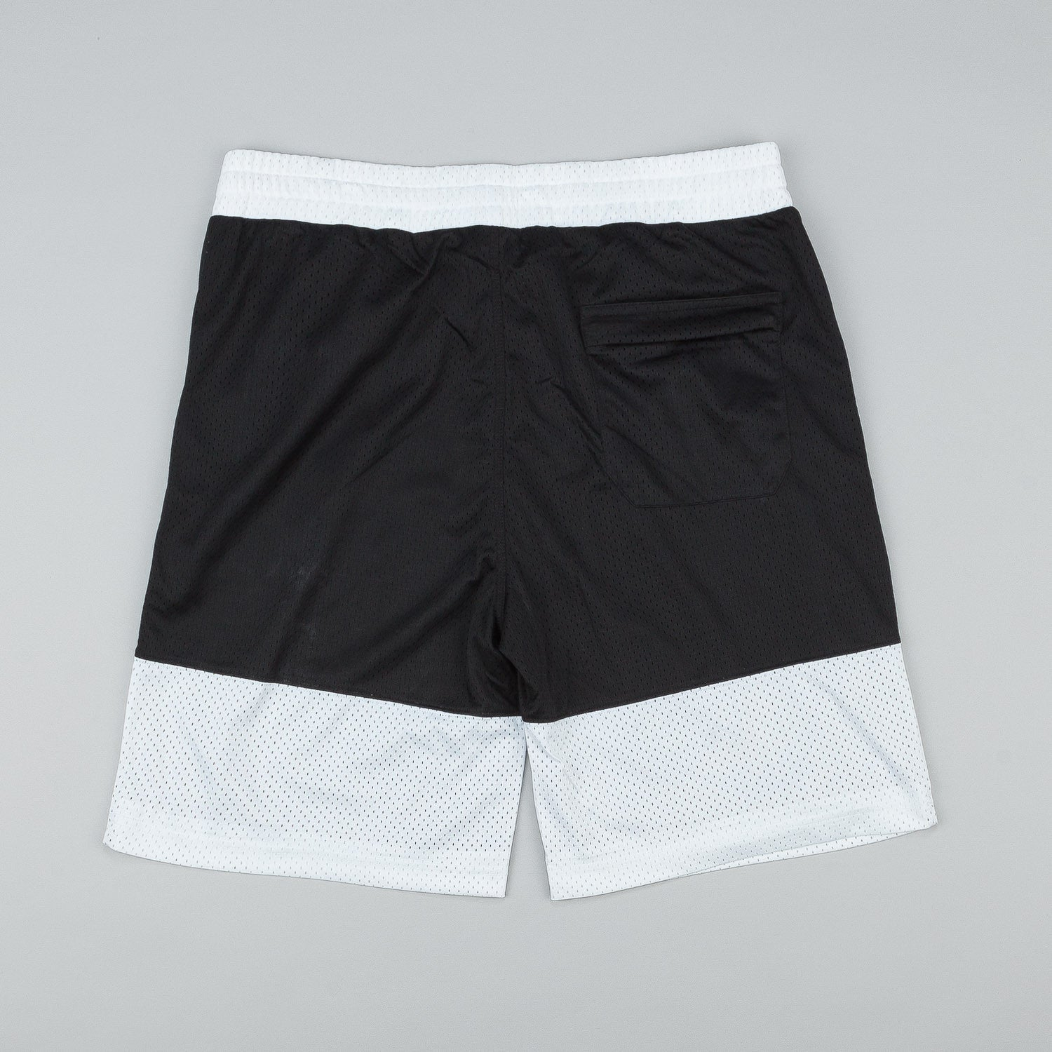 Diamond Arch Mesh Basketball Shorts - Black