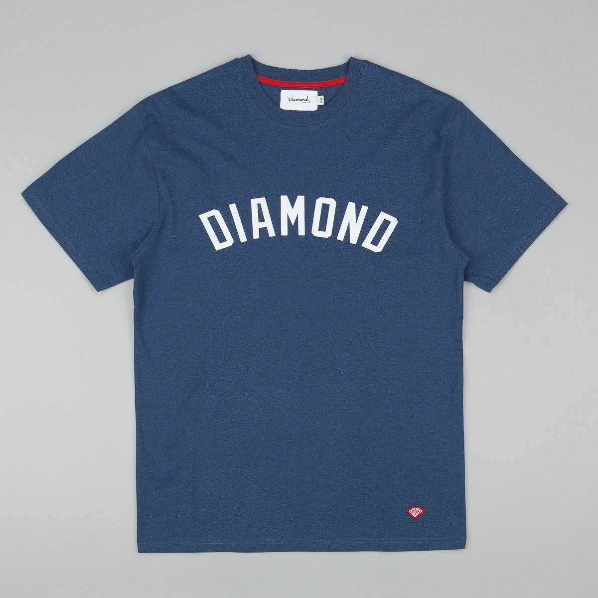 Diamond Arch T-Shirt - Heather Navy
