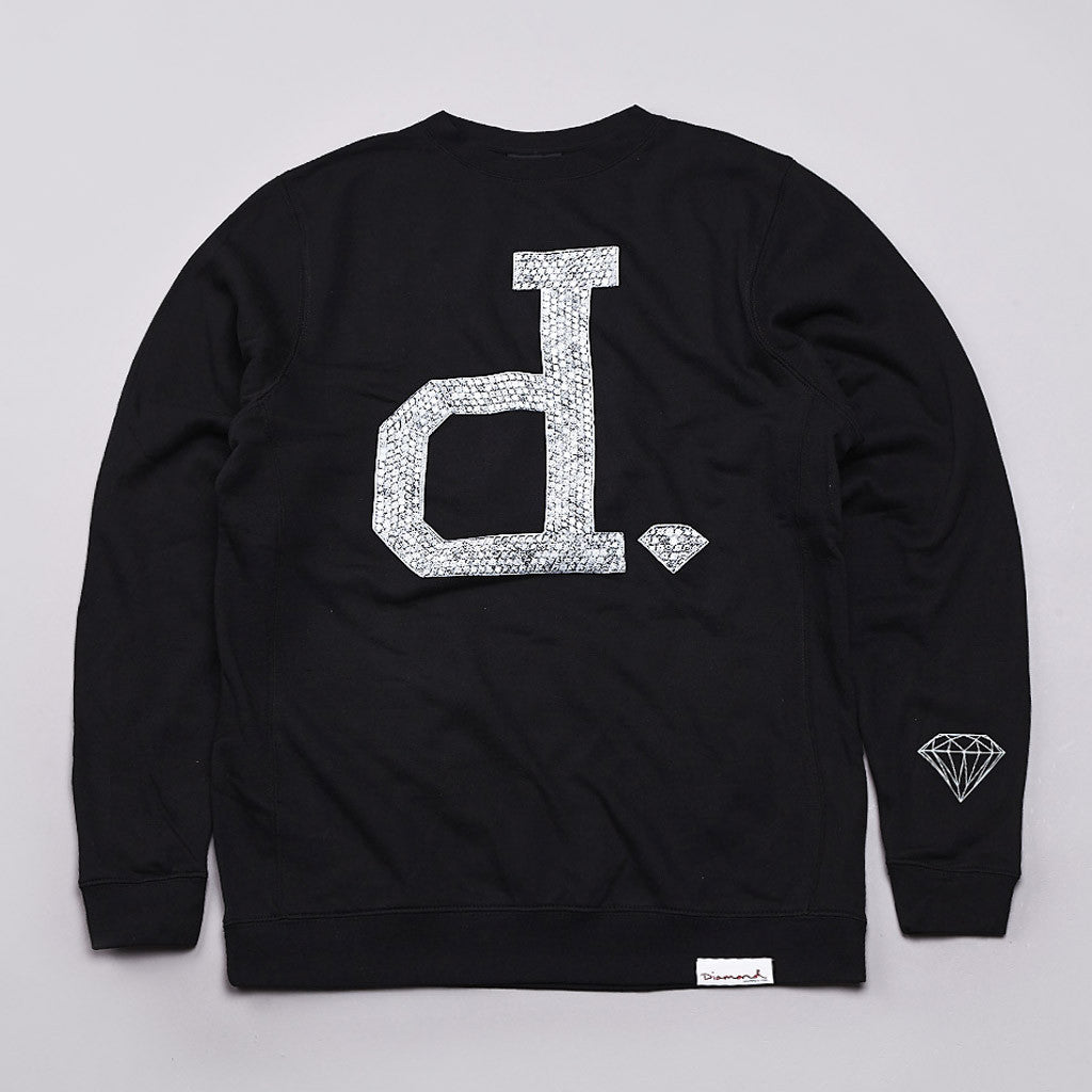 Diamond Ben Baller Unpolo Crew Neck Sweatshirt Black