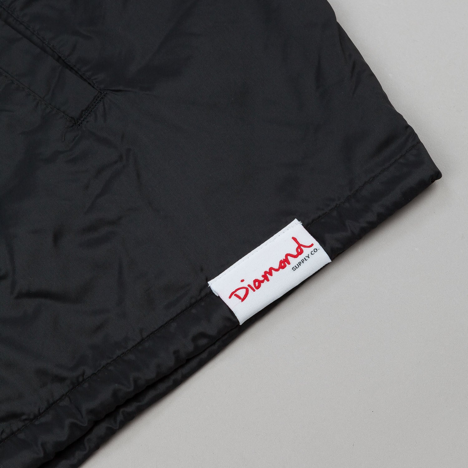 Diamond Boxed In Coach Jacket - Black