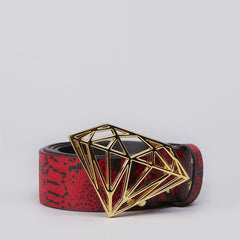 Diamond Brilliant Belt Red