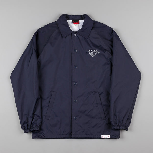 Diamond Brilliant Coach Jacket - Navy