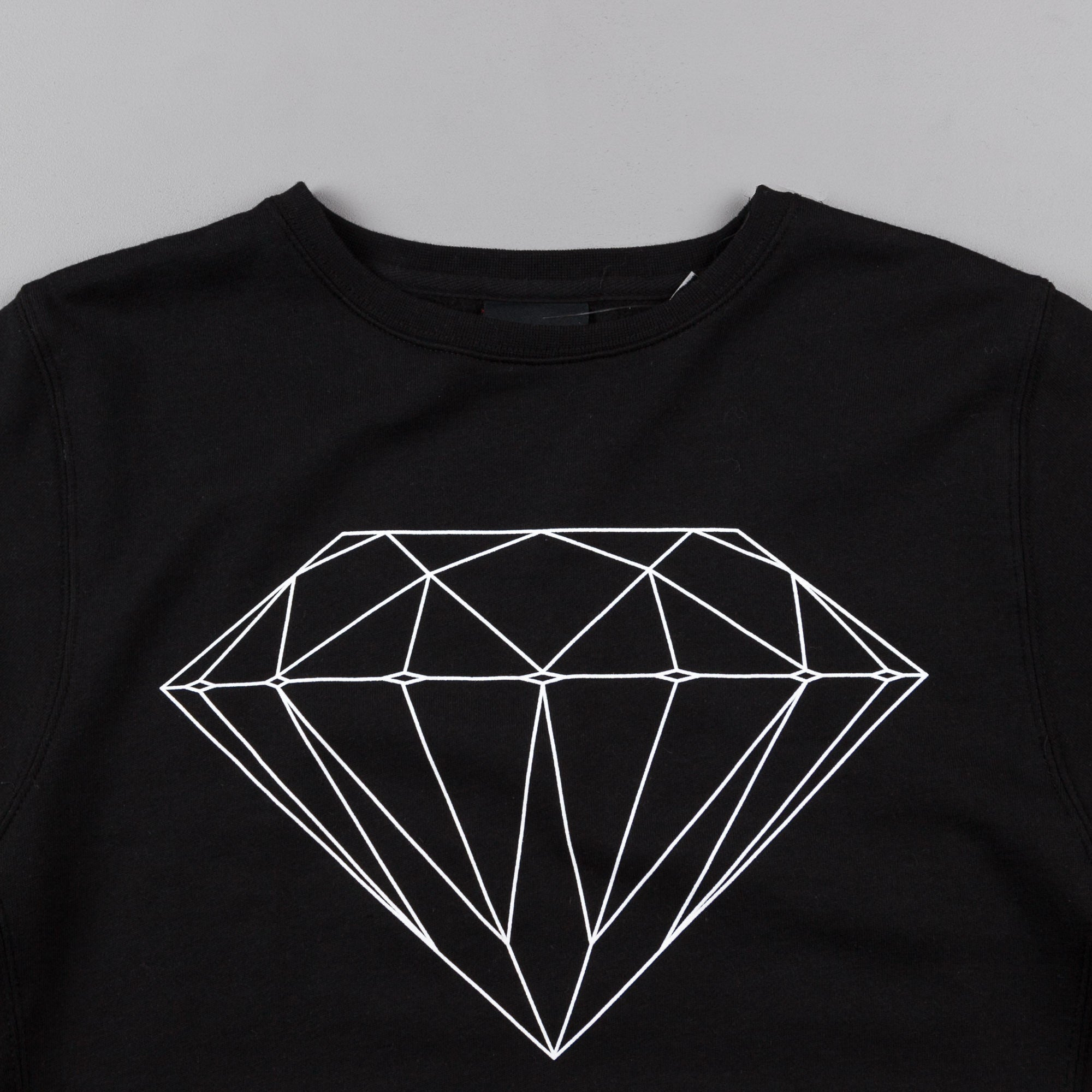 Diamond Brilliant Crewneck Sweatshirt - Black