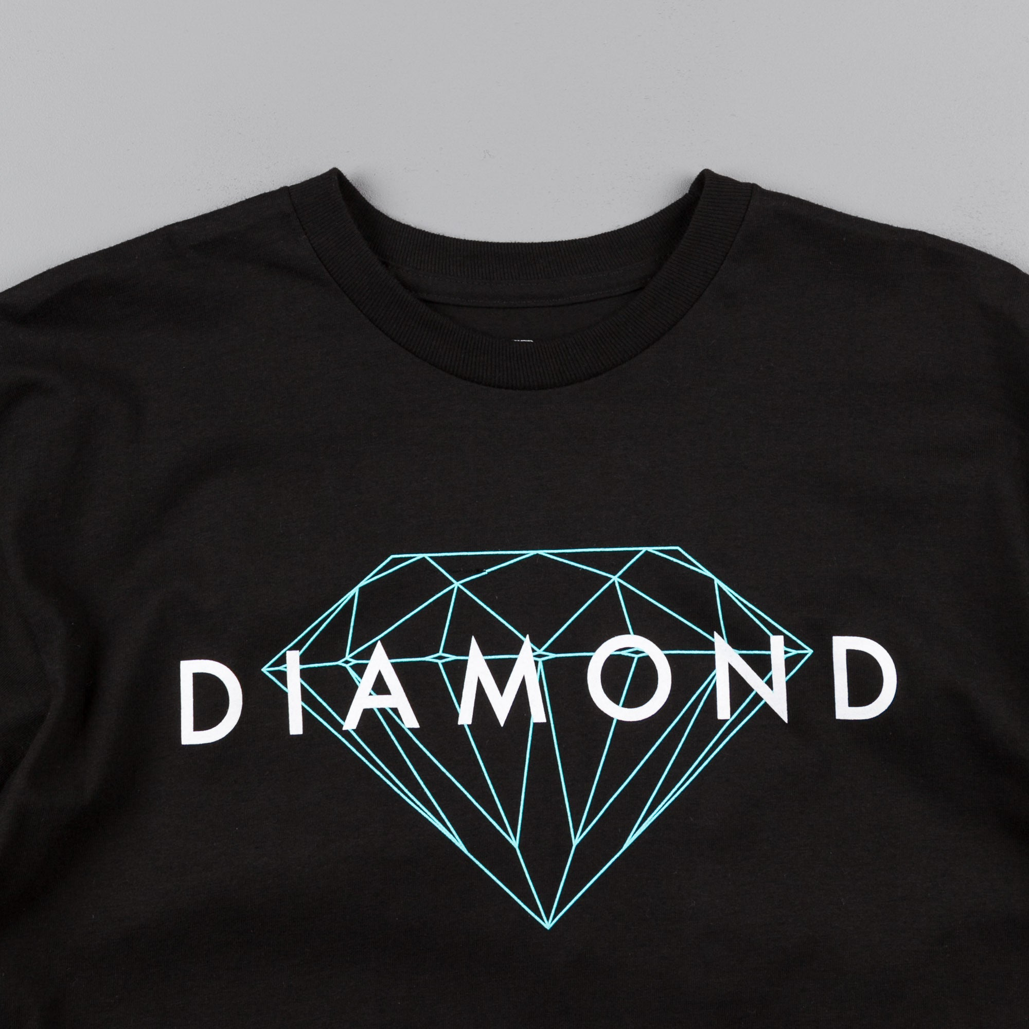 Diamond Brilliant Diamond T-Shirt - Black