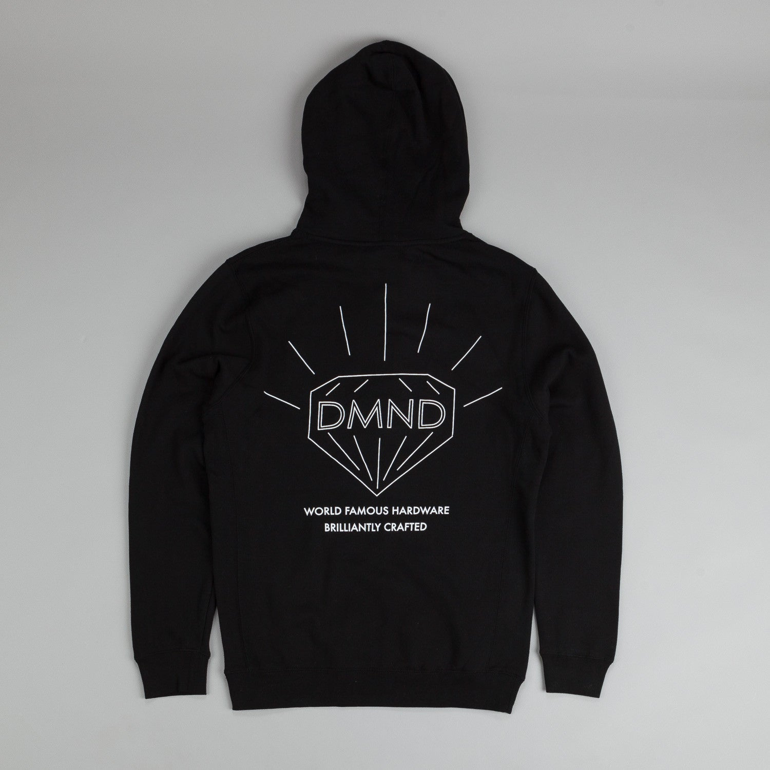 Diamond Brilliant Hooded Sweatshirt Black