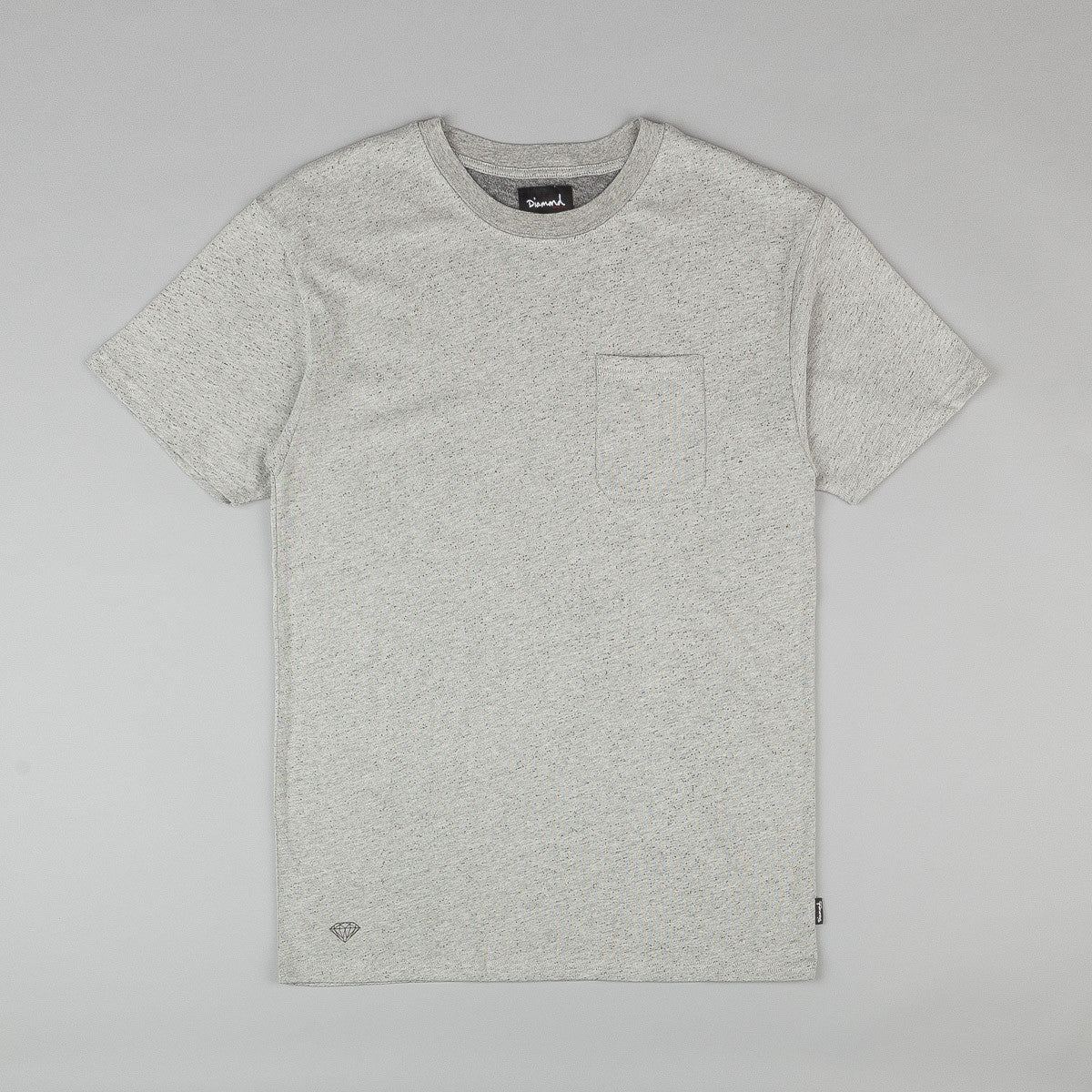 Diamond Knit Pocket T-Shirt