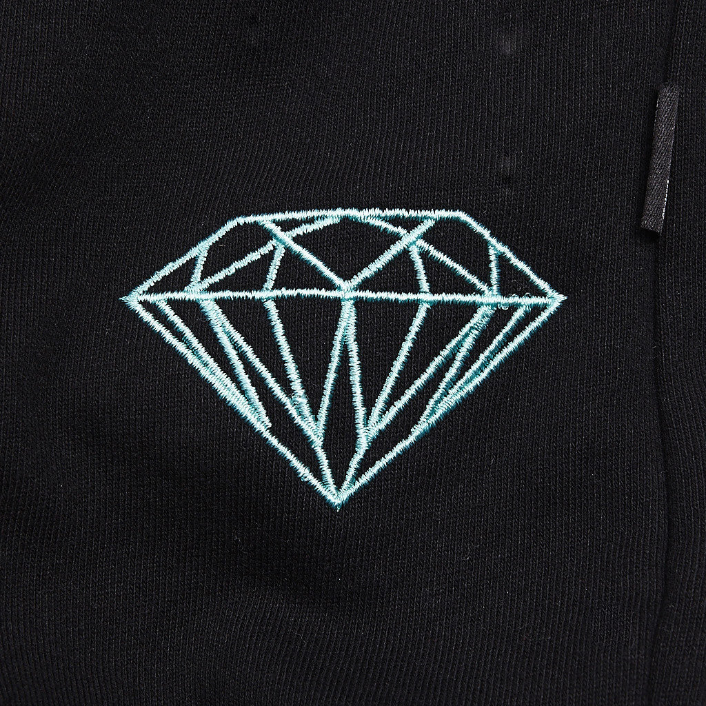 Diamond Brilliant Sweatpants Black / Diamond Blue