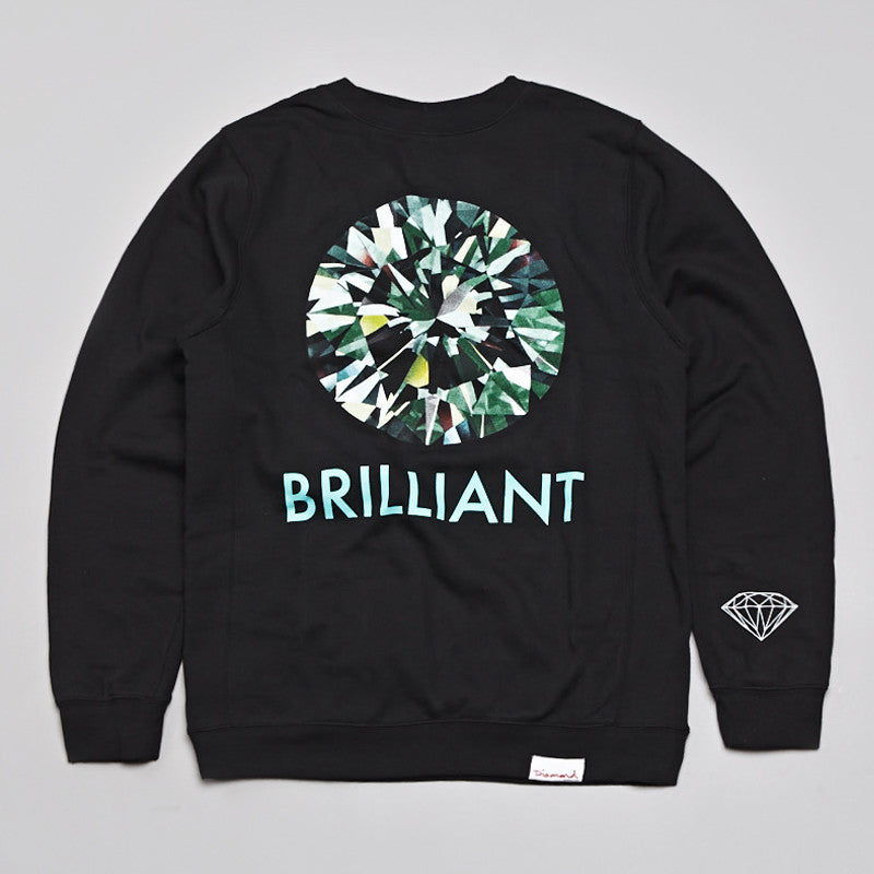 Diamond Brilliant Sweatshirt Black
