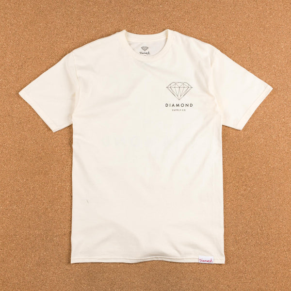 Diamond Brilliant T-Shirt - Creme