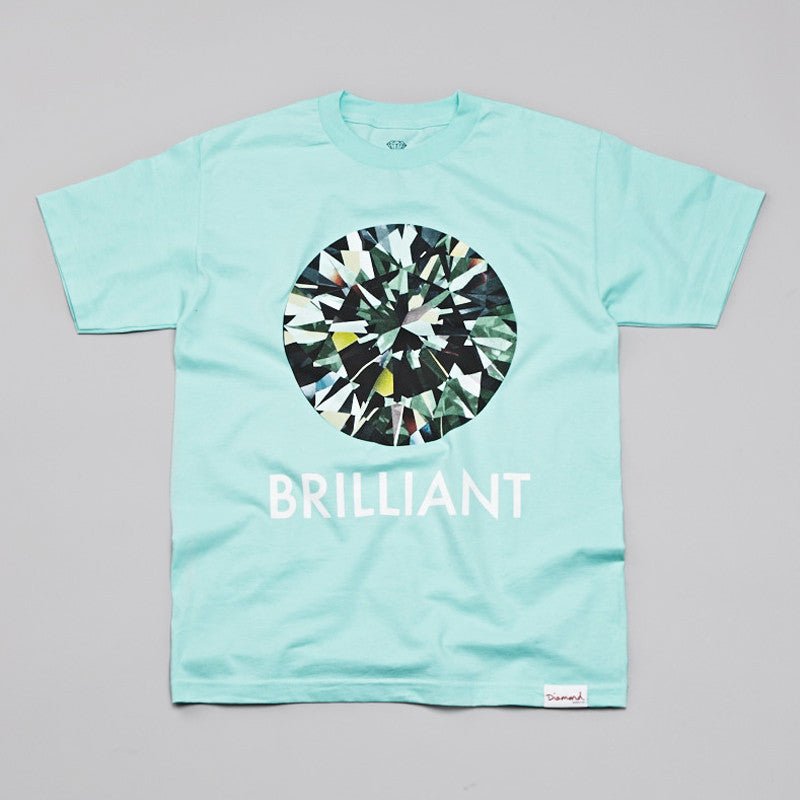 Diamond Brilliant T Shirt Diamond Blue