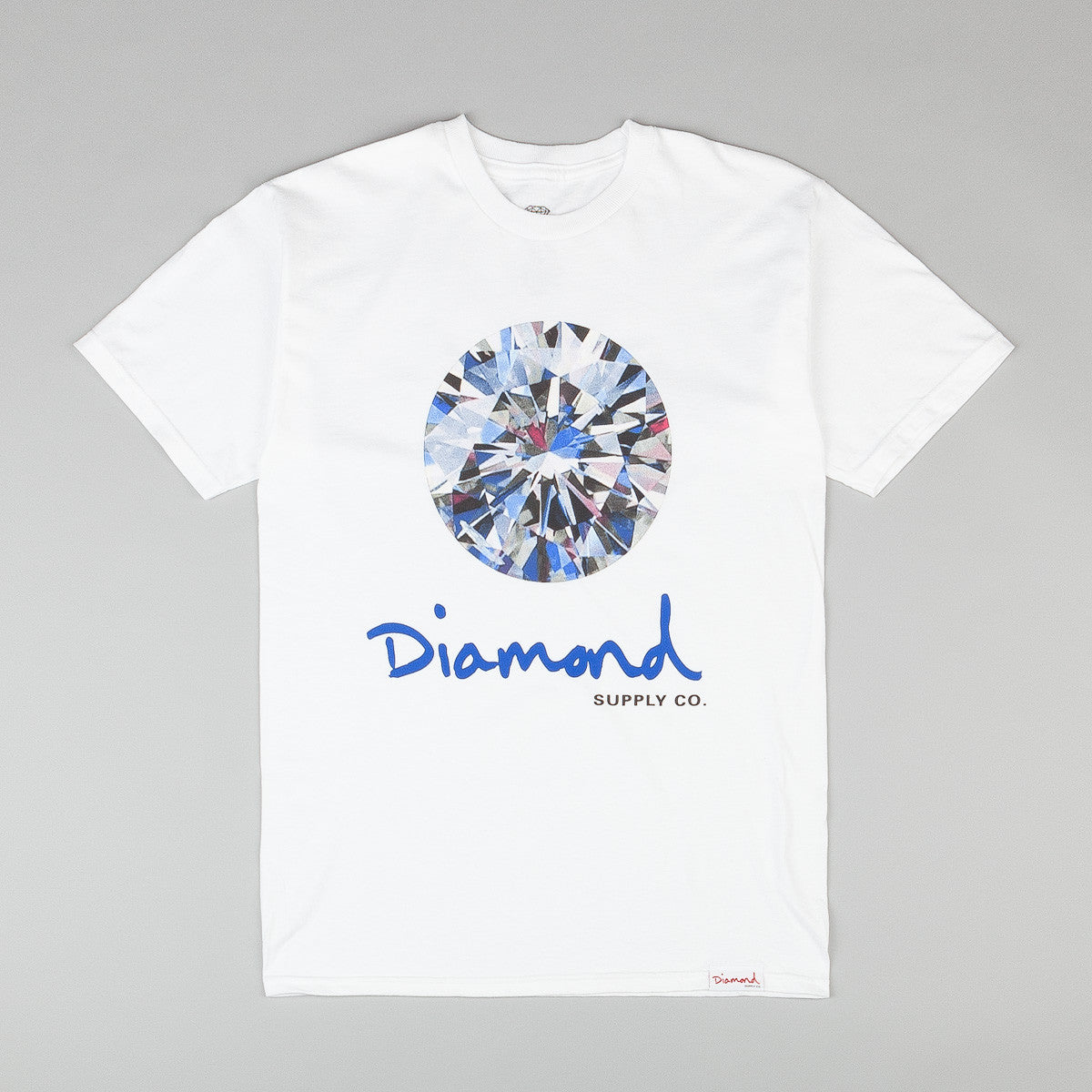 Diamond Brilliant T Shirt White