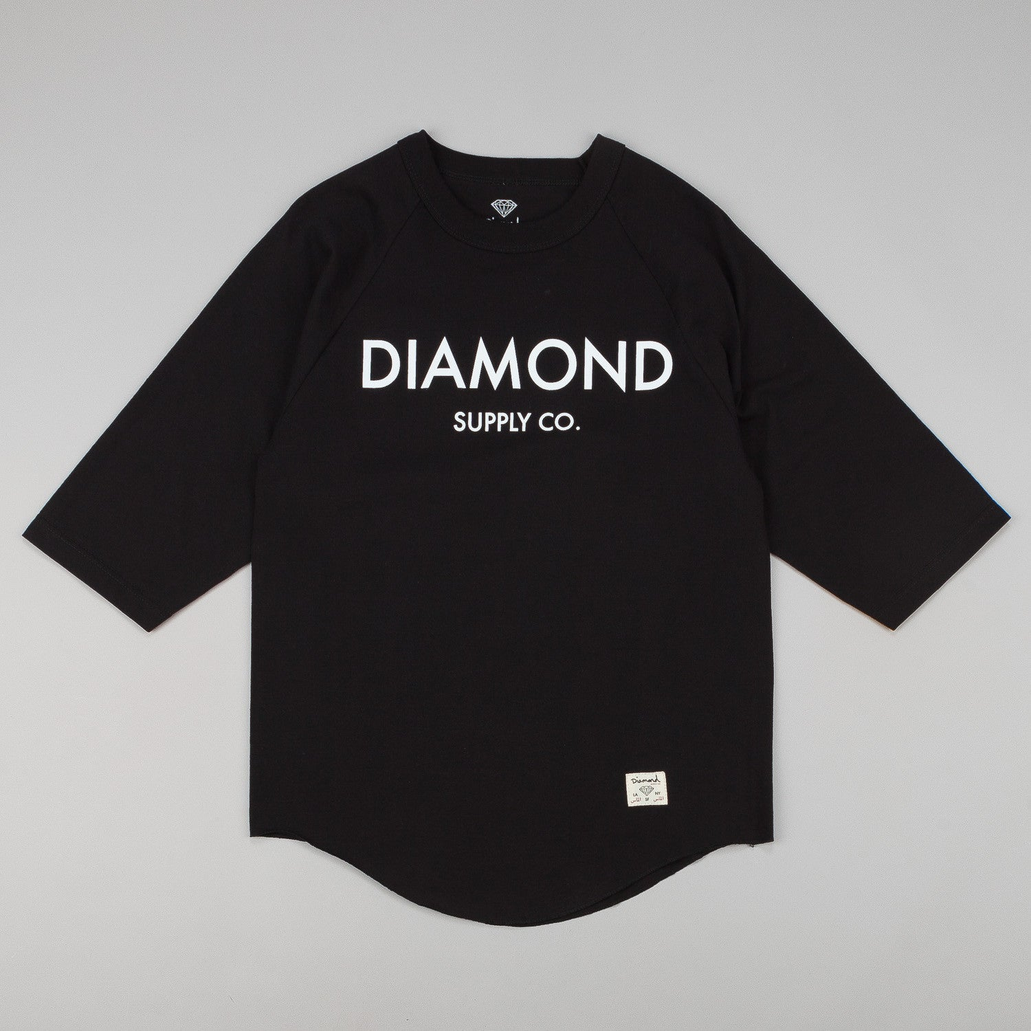 Diamond Classic 3/4 Sleeve Raglan T-Shirt