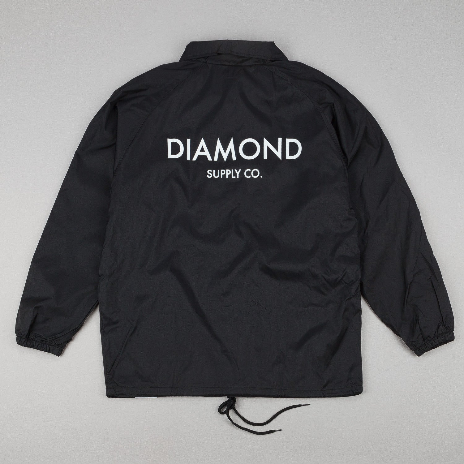 Diamond Classic Coach Jacket - Black
