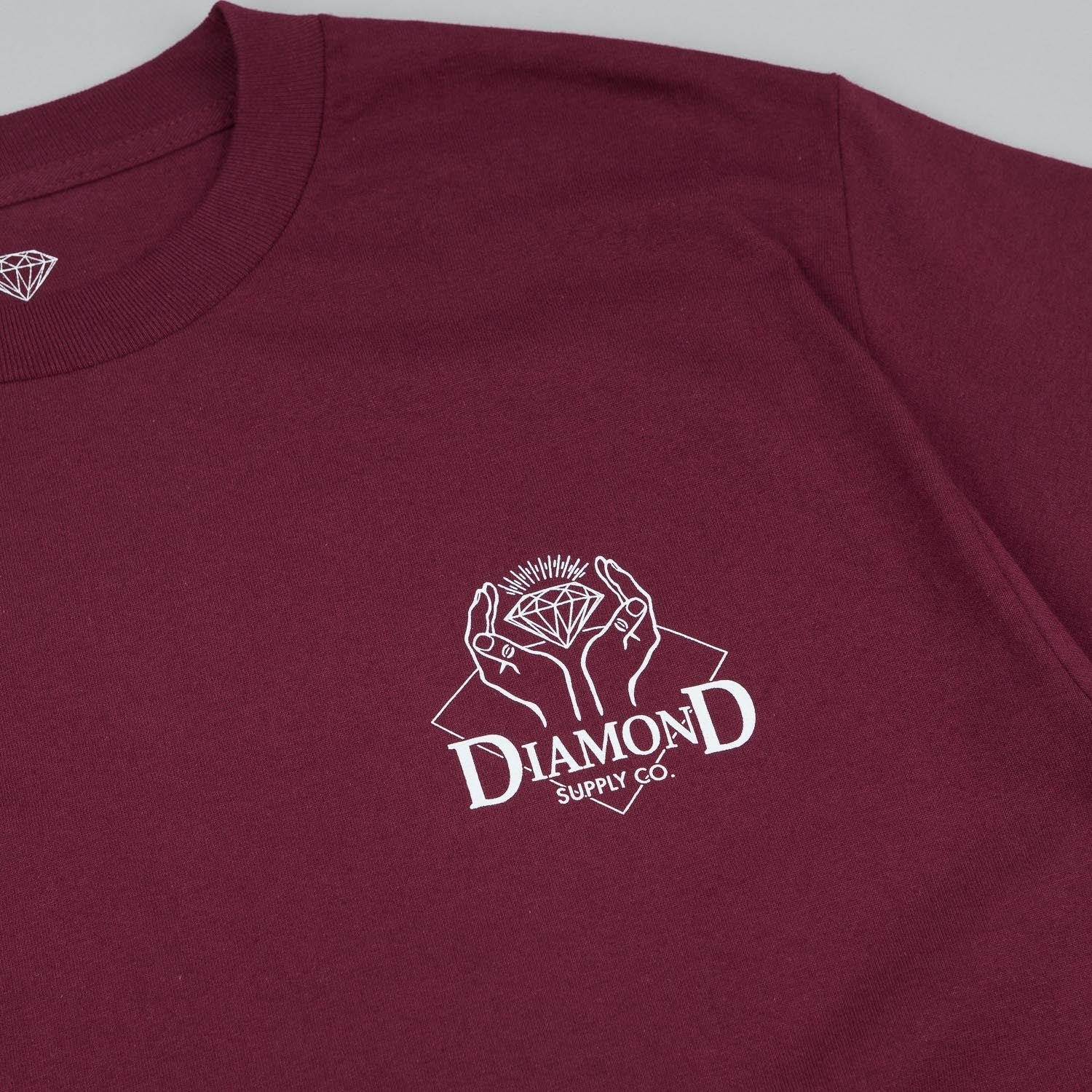 Diamond Coveted T-Shirt Burgundy