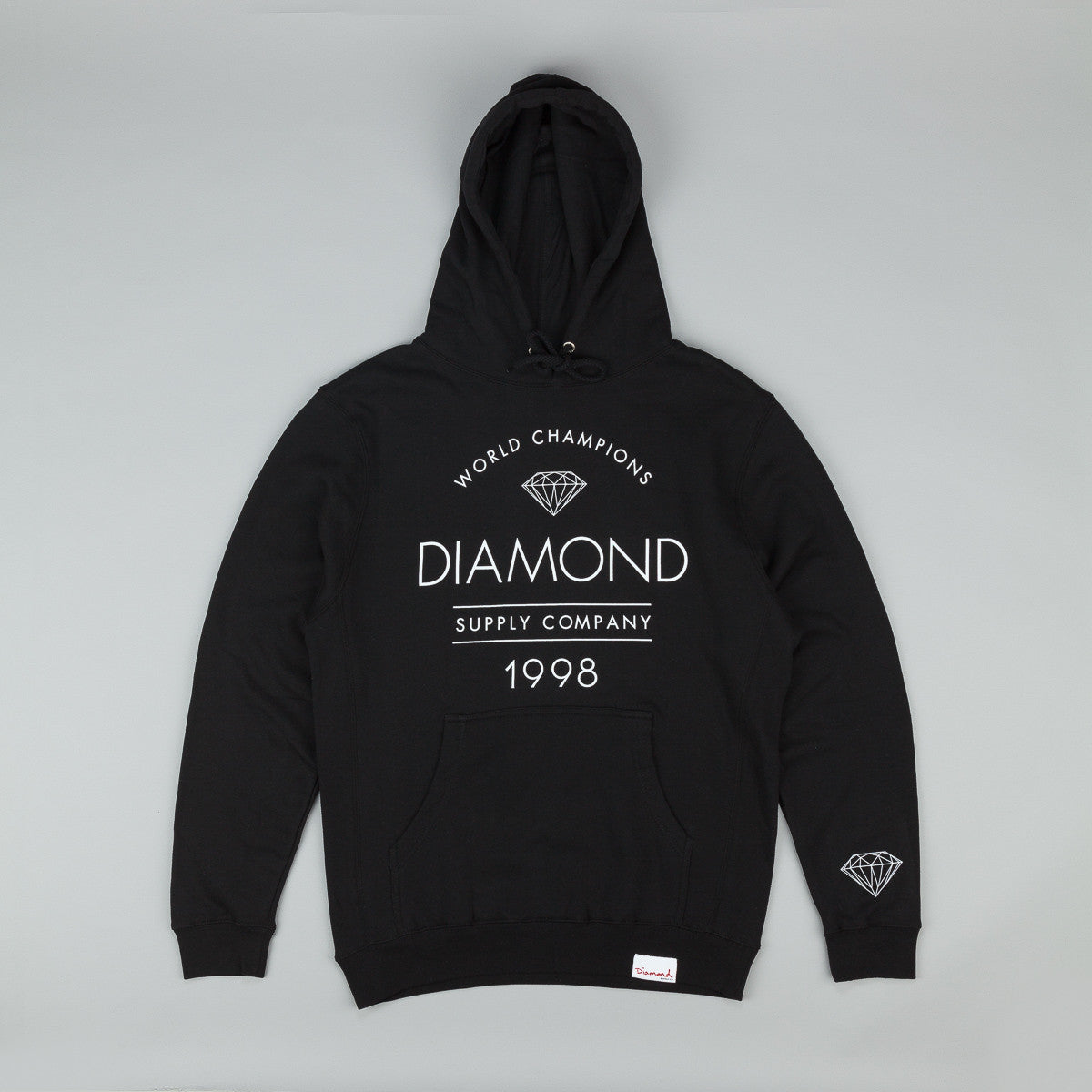 Diamond Craftsman Hooded Sweatshirt - Black