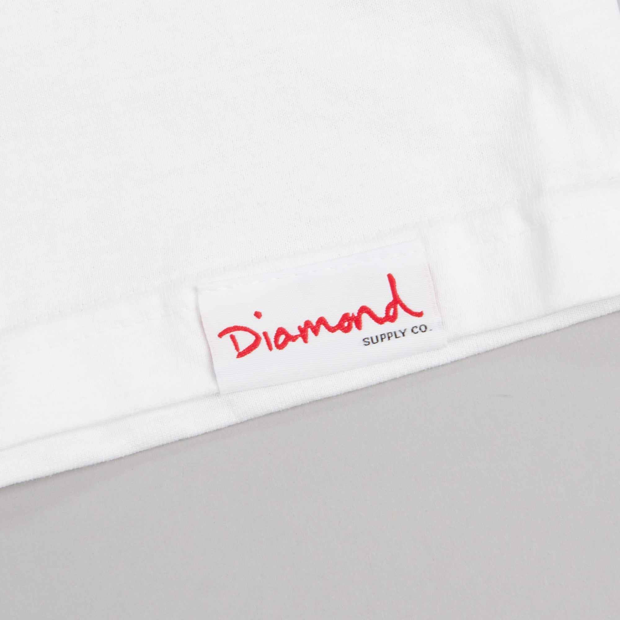 Diamond Cut T Shirt White