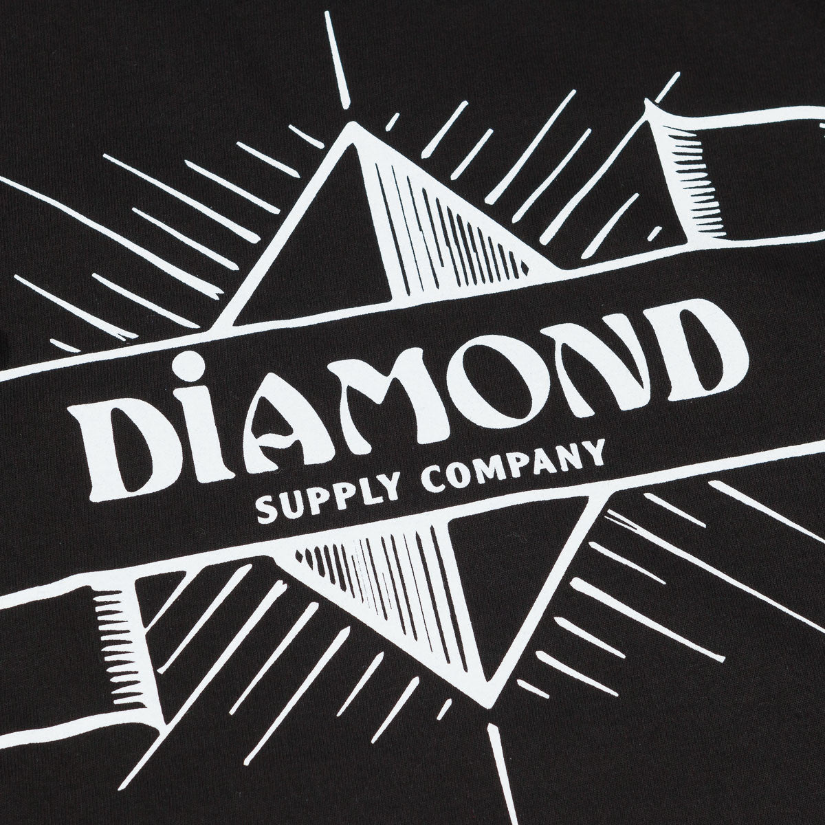 Diamond Desert Nights Long Sleeve T-Shirt - Black